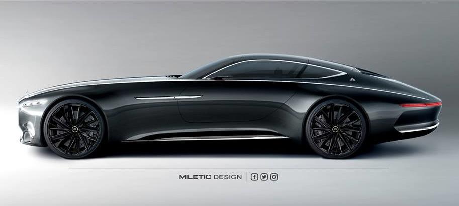 black car Vision Mercedes Maybach Images
