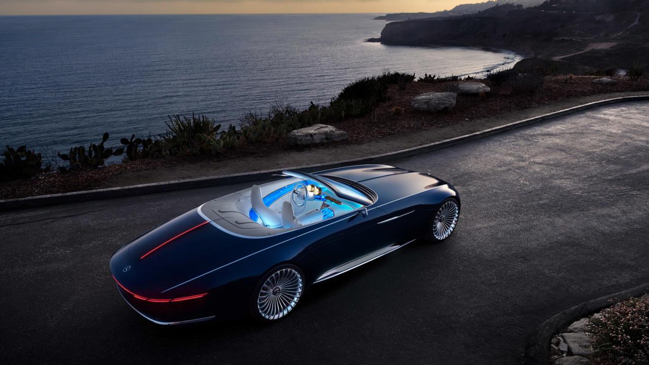 super Vision Mercedes Maybach Images