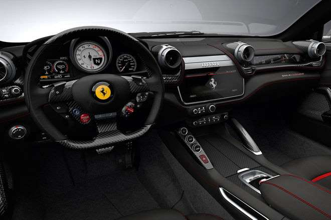 best interior Ferrari GTC4Lusso 2018
