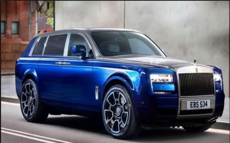 stunning Rolls-Royce Cullinan Images