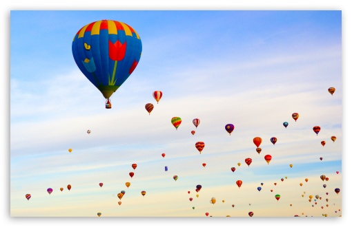 download Air Balloon Wallpaper