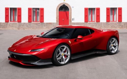 top hd Ferrari SP 38 Wallpaper