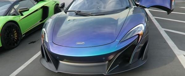blue hd McLaren MSO 675LT Images