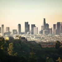 big building Los Angeles Wallpaper