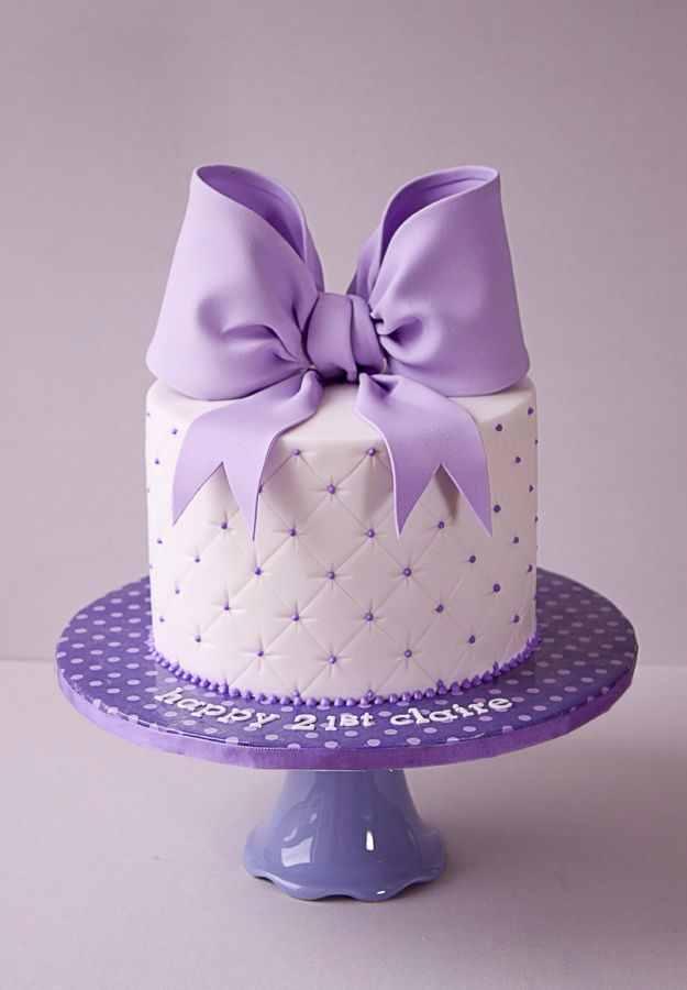 purple hd Birthday Cake Images