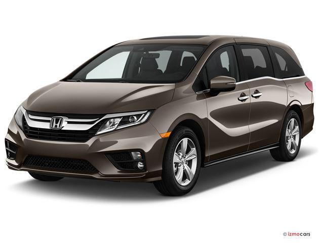 full black Honda Odyssey 2018