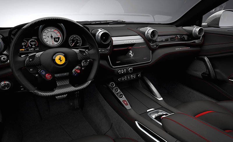 super interior Ferrari GTC4Lusso 2018