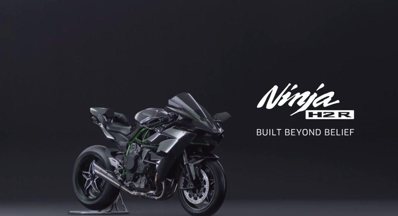 3d Kawasaki Ninja H2 Wallpaper