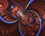brown hd Fractal Wallpaper