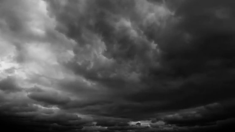 black Dark Clouds Images