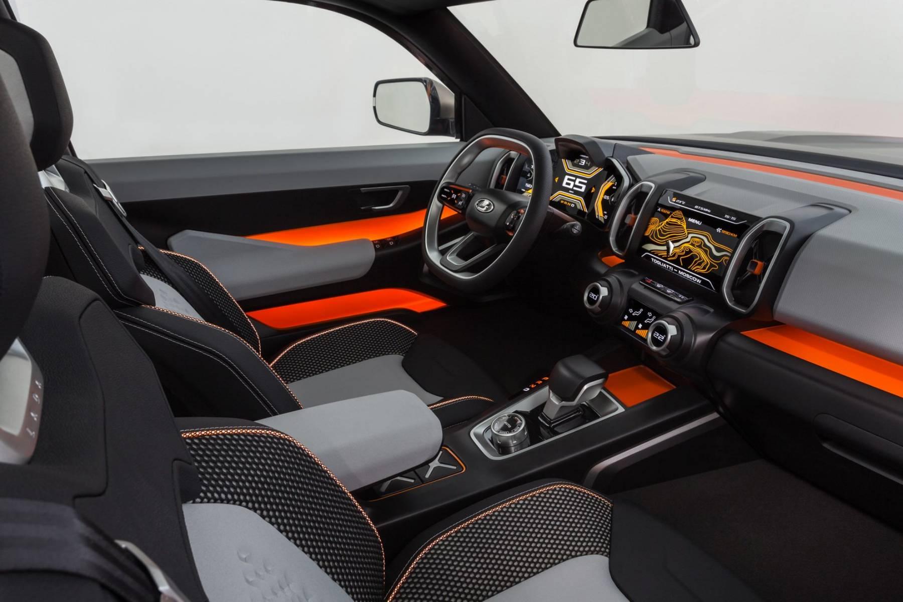 interior Lada 4x4 Vision Images