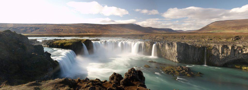 iceland Godafoss Waterfall image