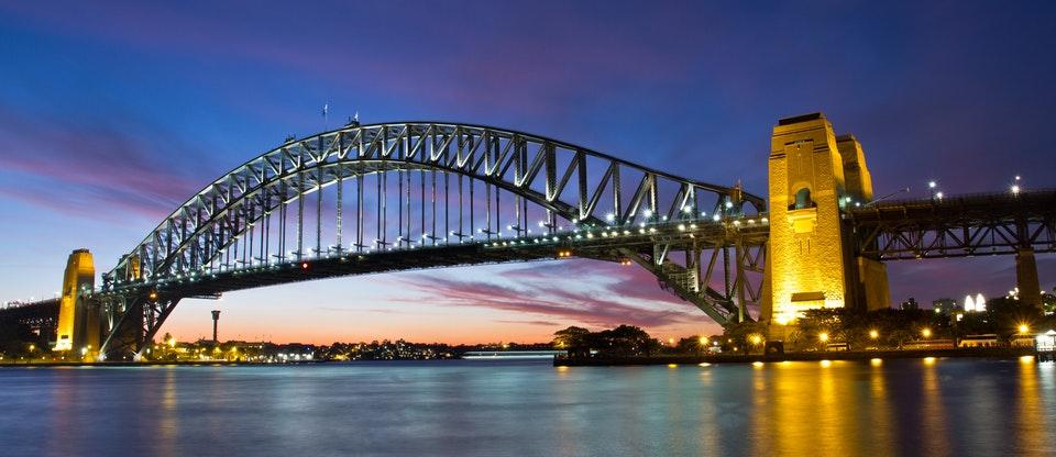 landscape Sydney Harbour Bridge