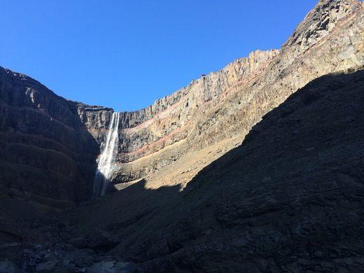 most popular Hengifoss Waterfall