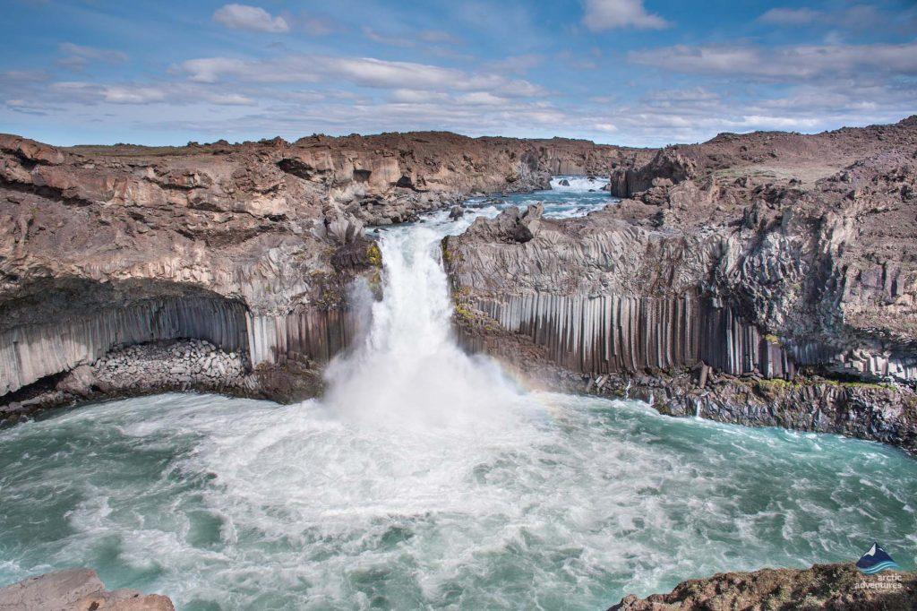 stunning Hengifoss Waterfall