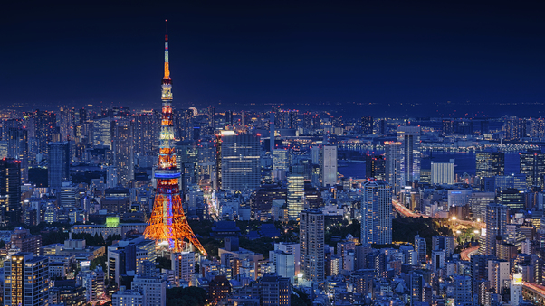 stunning Tokyo Tower Wallpaper