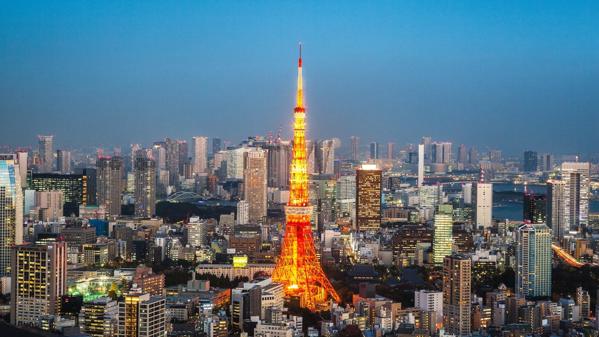 top Tokyo Tower Wallpaper