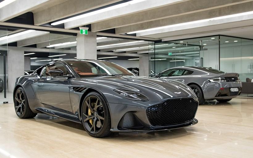 grey car Aston Martin DBS Superleggera