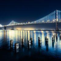 lights hd Bay Bridge Wallpaper