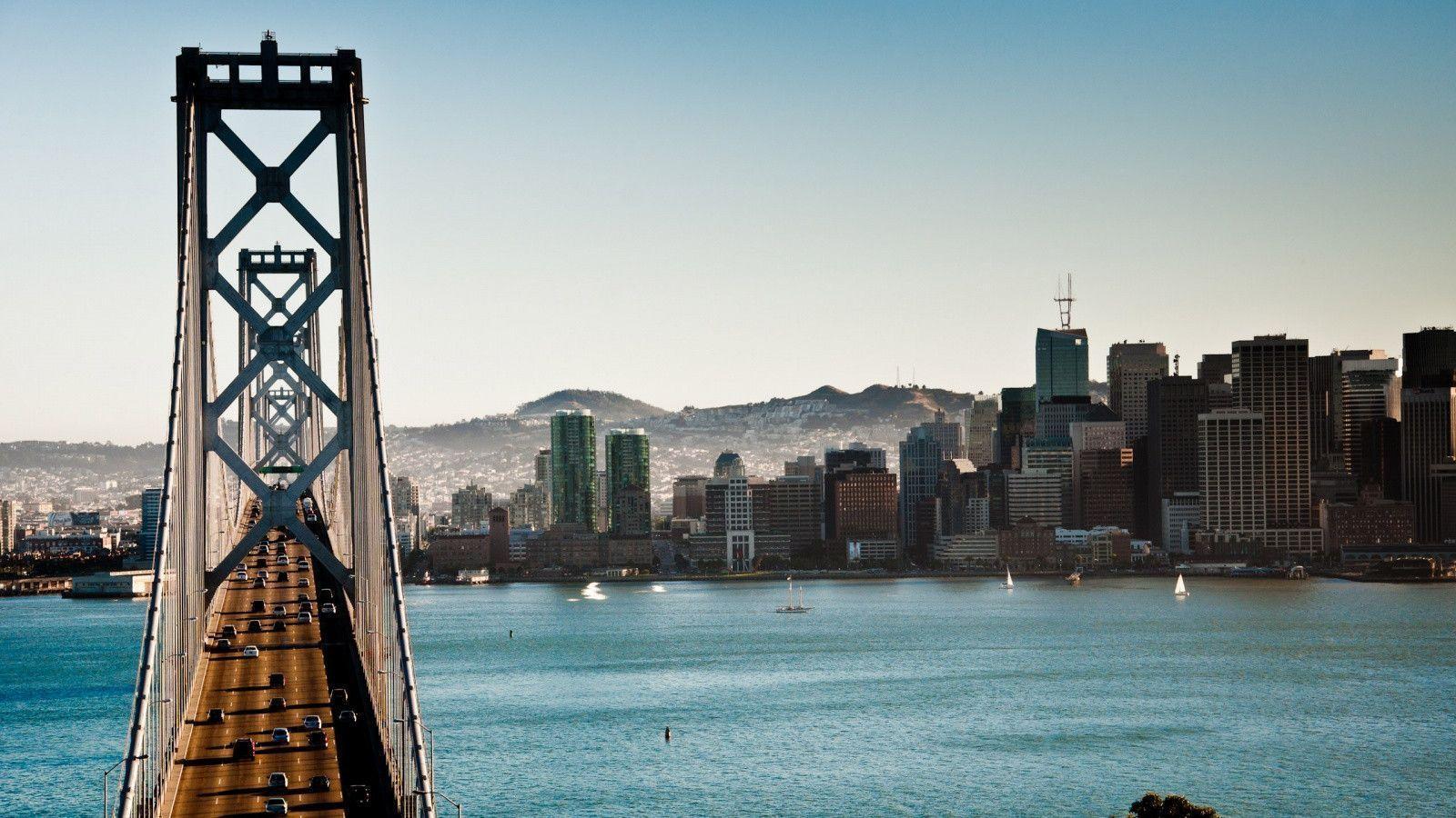 top Bay Bridge Wallpaper