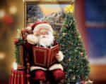 animated tree with Santa Claus WallpaperSanta Claus Wallpaper