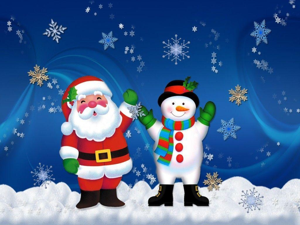 cute hd Santa Claus Wallpaper