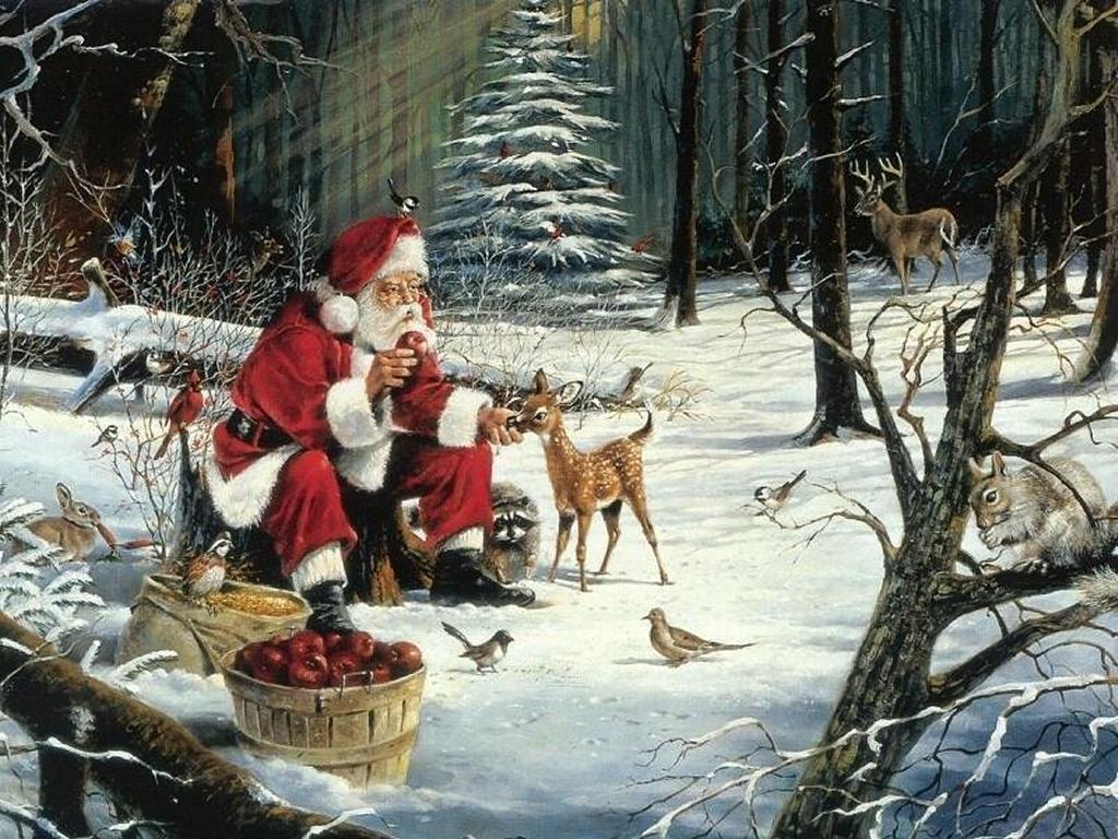 free hd Santa Claus Wallpaper