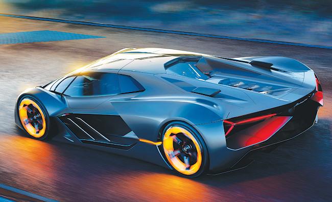 beautiful Lamborghini Terzo Millennio