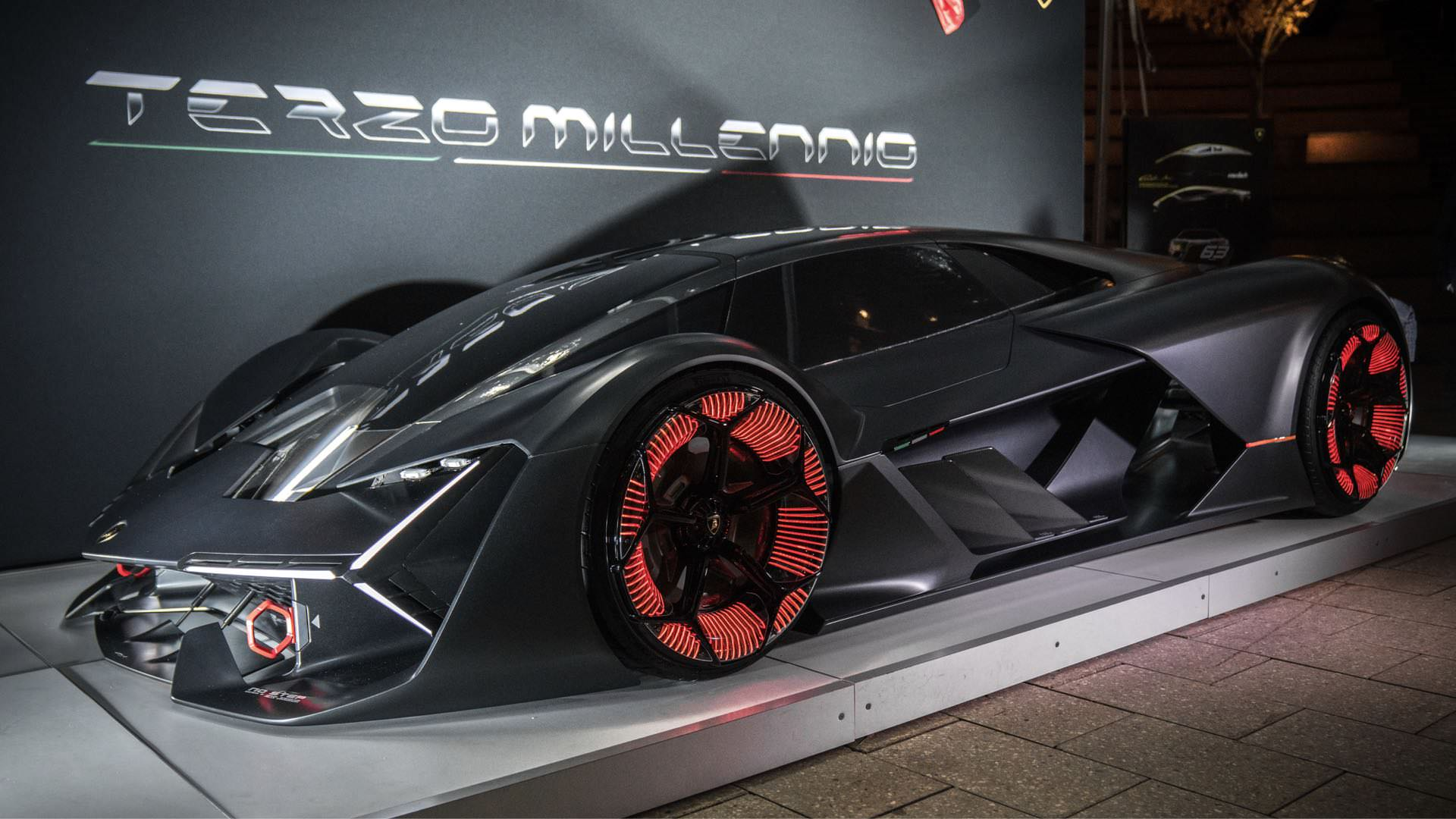 best collection of Lamborghini Terzo Millennio