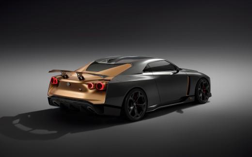 free Nissan GT-R50 Wallpaper