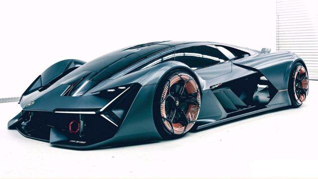 full top Lamborghini Terzo Millennio