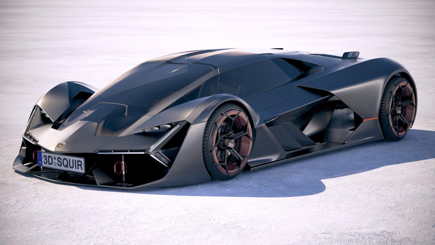 most popular Lamborghini Terzo Millennio
