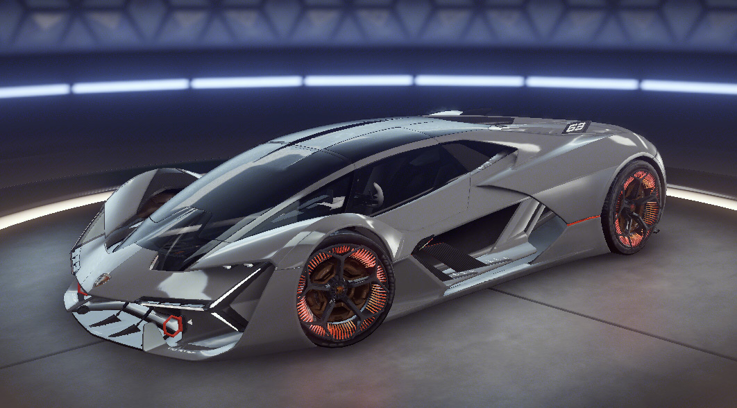 stunning Lamborghini Terzo Millennio