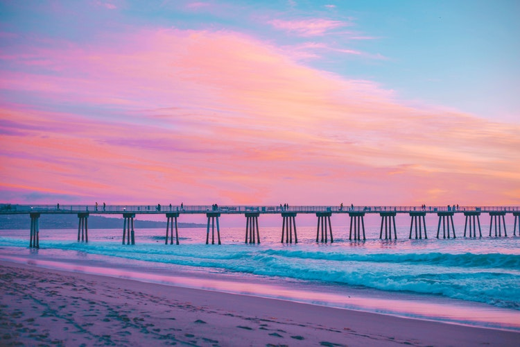 colored sky Pastel Wallpaper HD