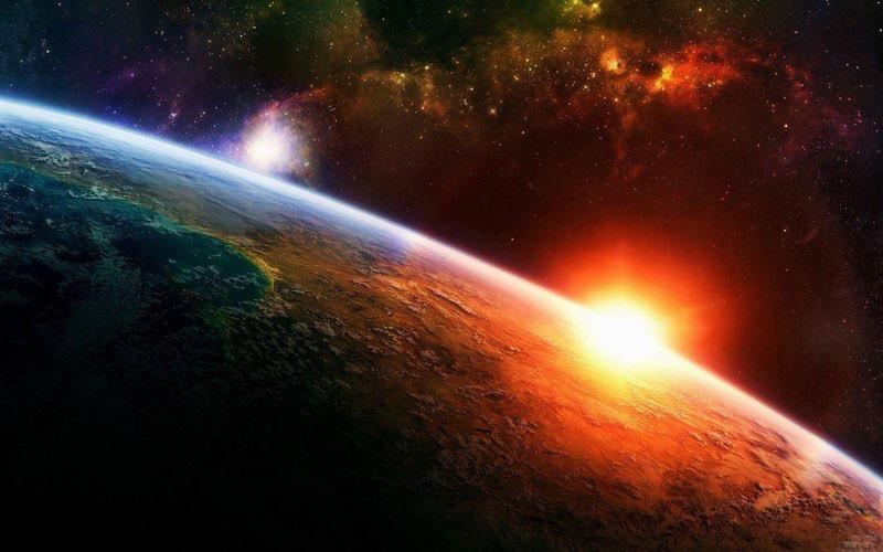 widescreen HD Space Wallpaper