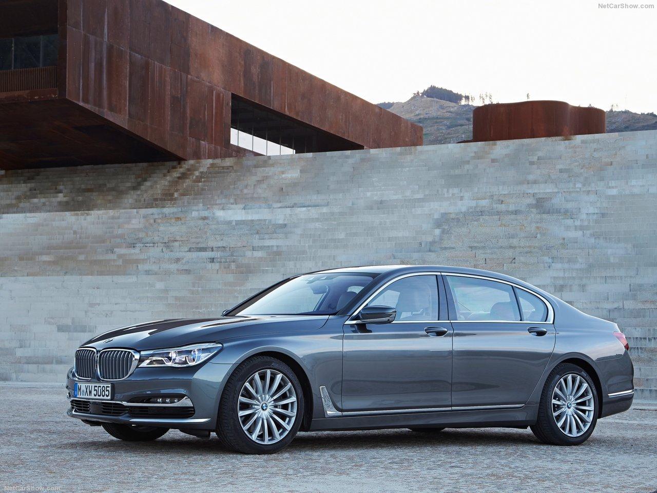 latest model BMW 750Li xDrive