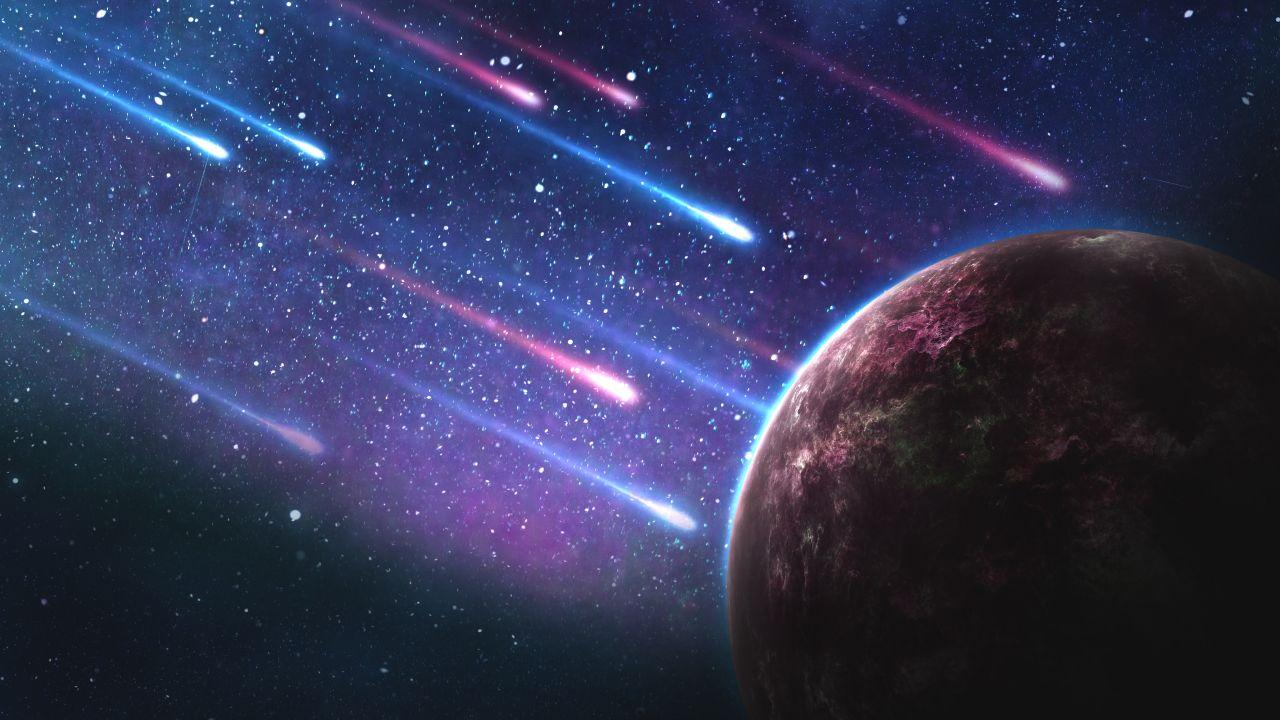 landscape 4K Galaxy Wallpaper