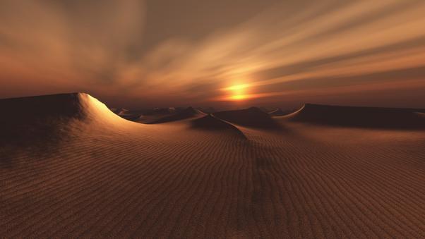 sundown HD Desert Wallpapers