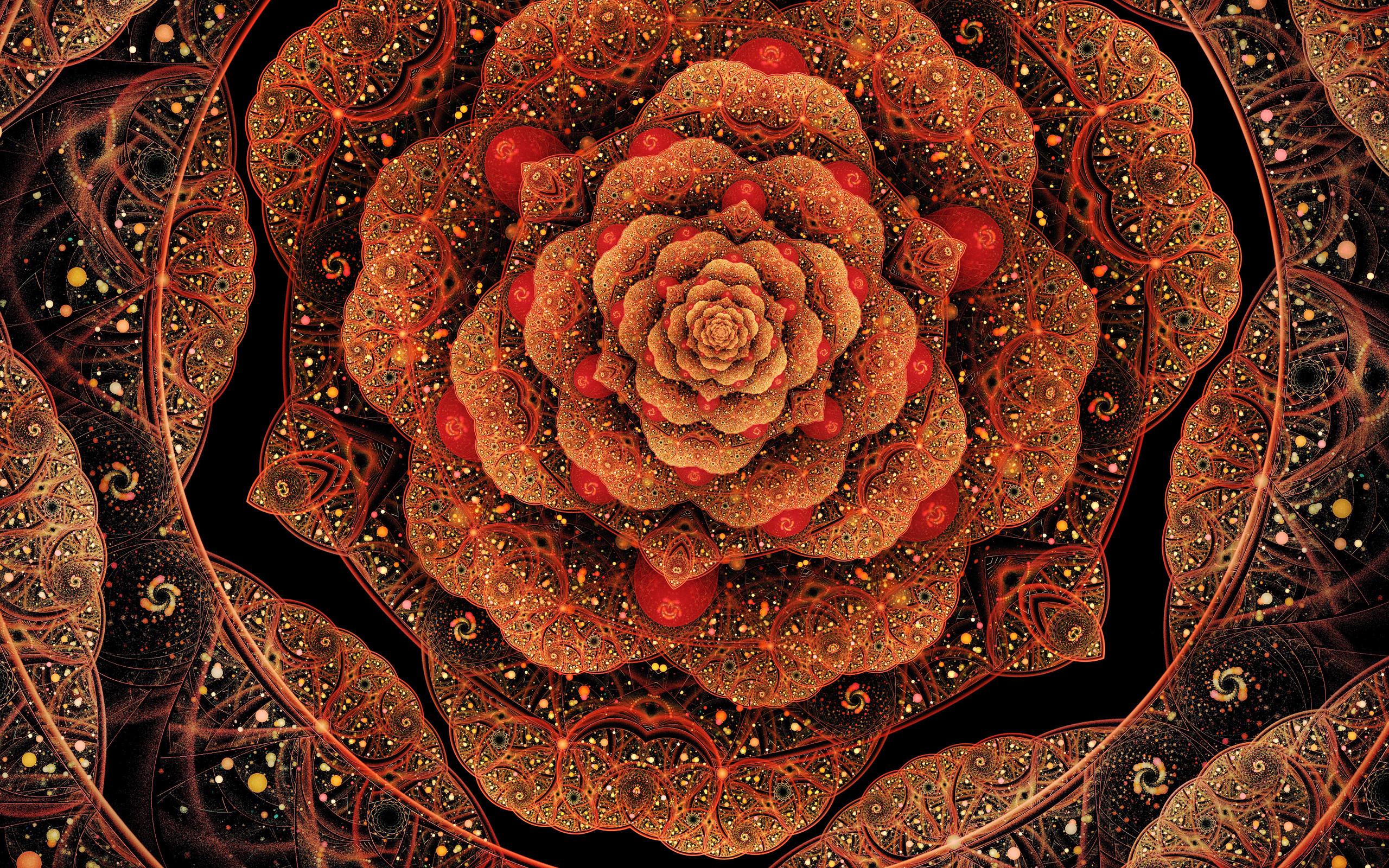 flower art HD Fractal Wallpapers