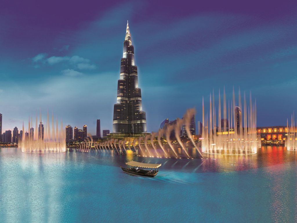 Widescreen Burj Khalifa Wallpaper 4K