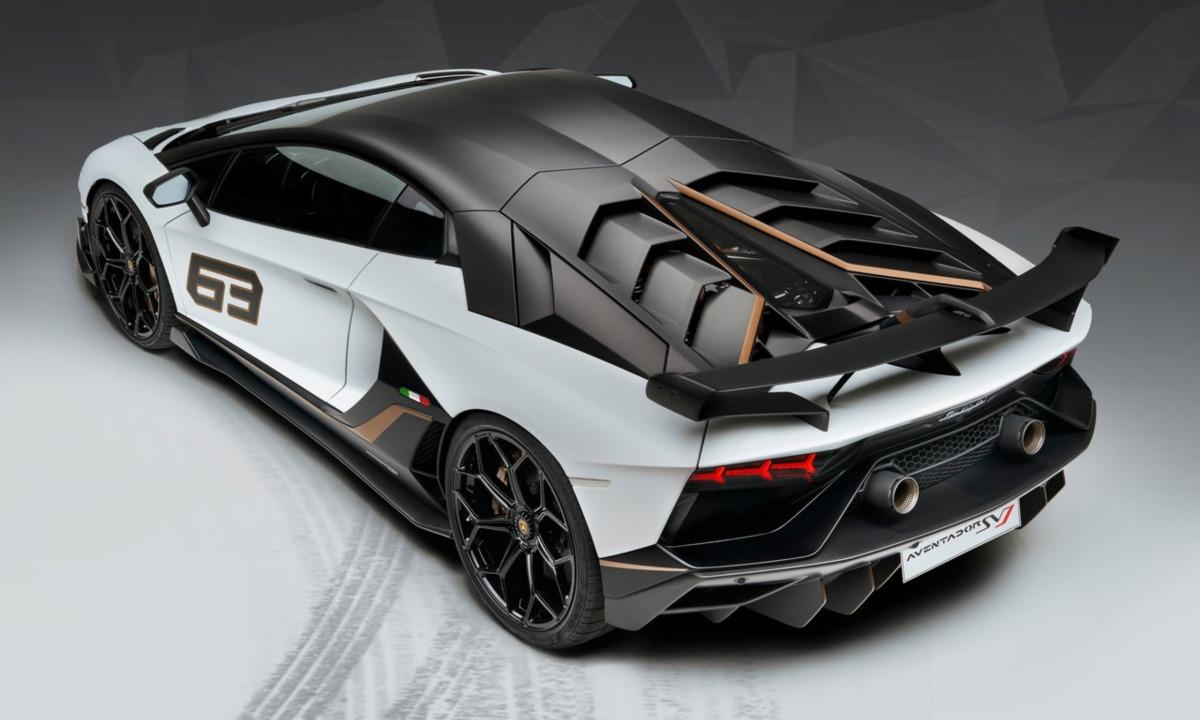 nice model Lamborghini Aventador SVJ Roadster