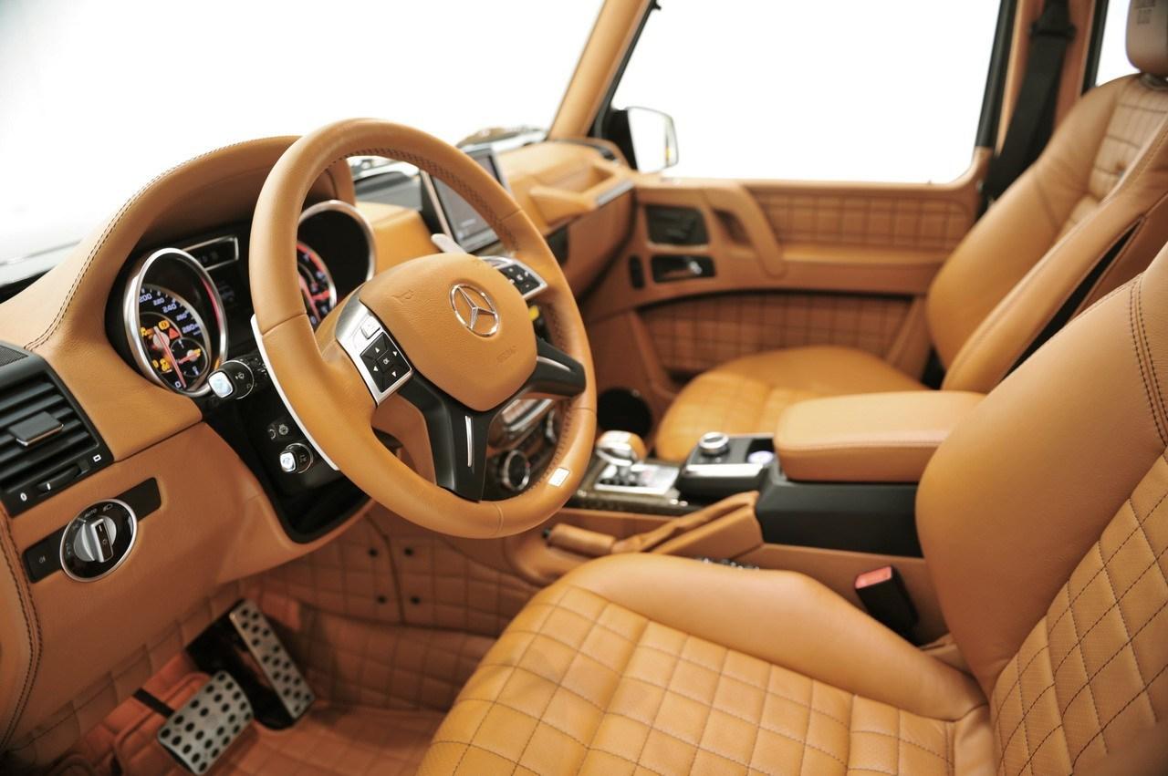 top interior Brabus 800 Widestar