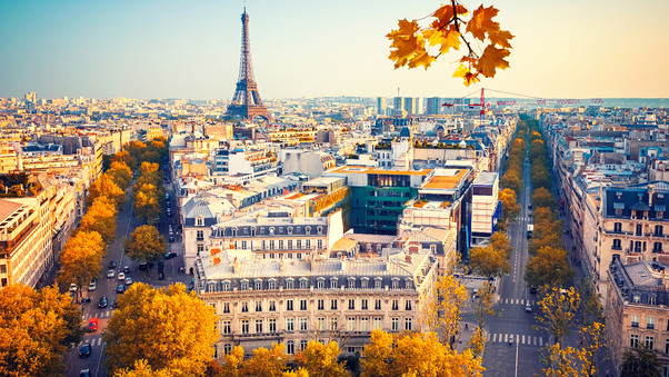 effiel tower Paris Wallpaper 4K