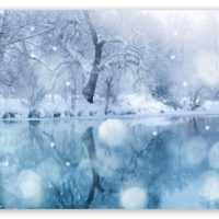 download HD Snowfall Wallpaper
