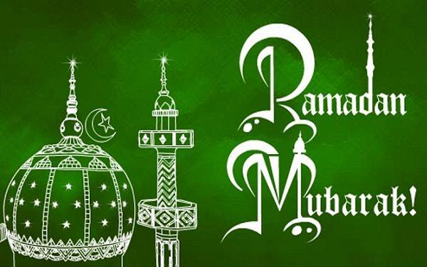 green hd Happy Ramadan Wishes