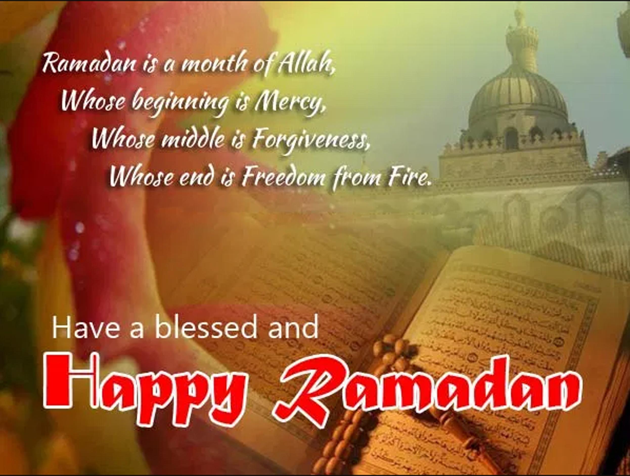 mosque Happy Ramadan Wishes