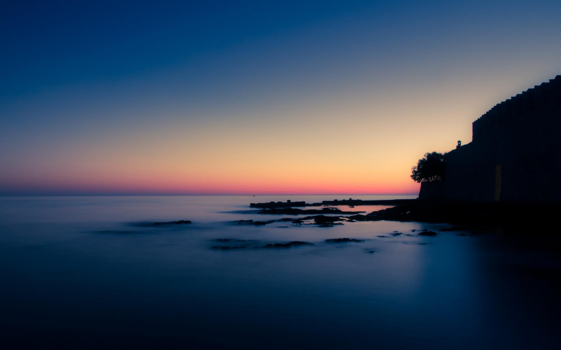 sea HD Dawn Wallpapers