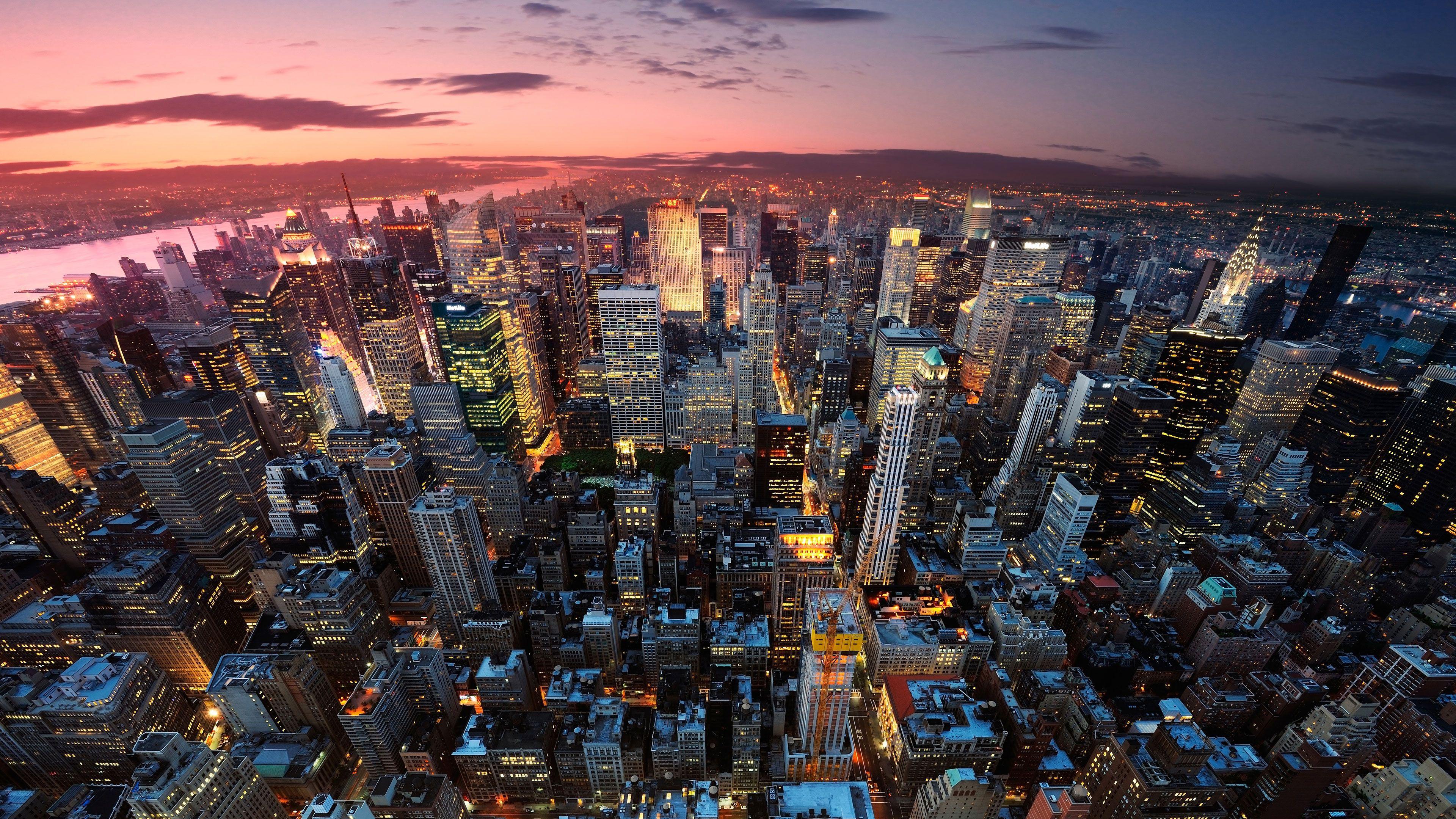 wallpaper of New York City 4K