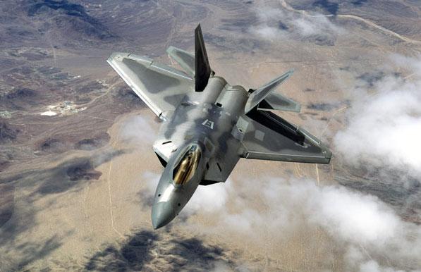 rolls outLockheed Martin F-22 Raptor