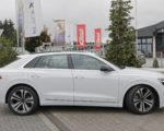 beautiful white Audi SQ8 TDI
